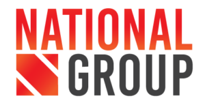 National Group logo in red and black